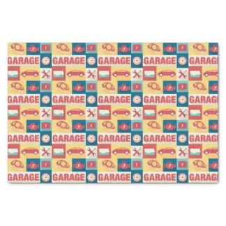 Professional Car Repairman Iconic Designed Tissue Paper