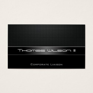 Aztec Themed Professional Carbon Fiber Car Business Cards