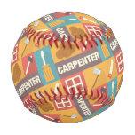 Professional Carpenter Iconic Designed Baseball