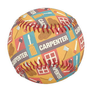 Professional Carpenter Iconic Designed Baseball