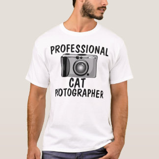 Professional Cat photographer, Funny Cats T-shirts