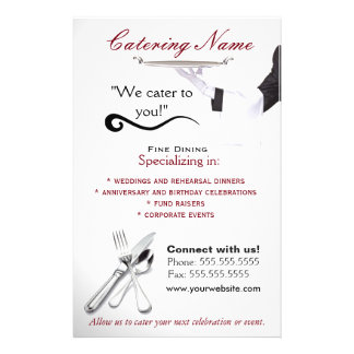 Professional Catering Flyers