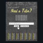 "Professional Chalkboard Search Bar Math Tutor Flyer<br><div class=""desc"">Professional Chalkboard Search Bar Math Tutor Flyers.</div>"