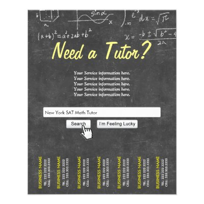 Tutoring Flyer  ZazzleCom
