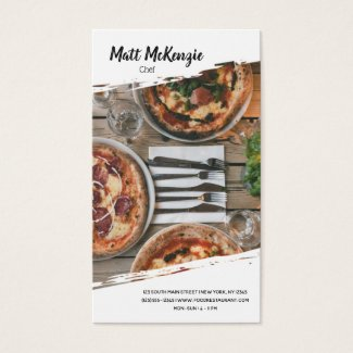 Professional Chef Business Card