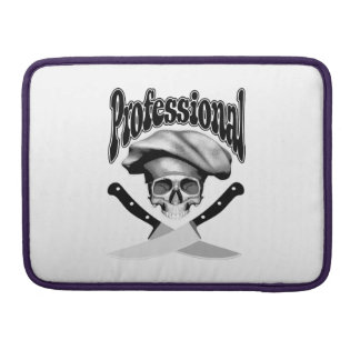 Professional Chef MacBook Pro Sleeves