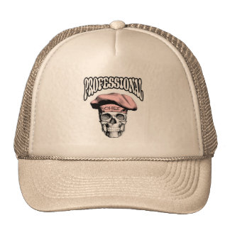 Professional Chef Skull v5 Mesh Hats
