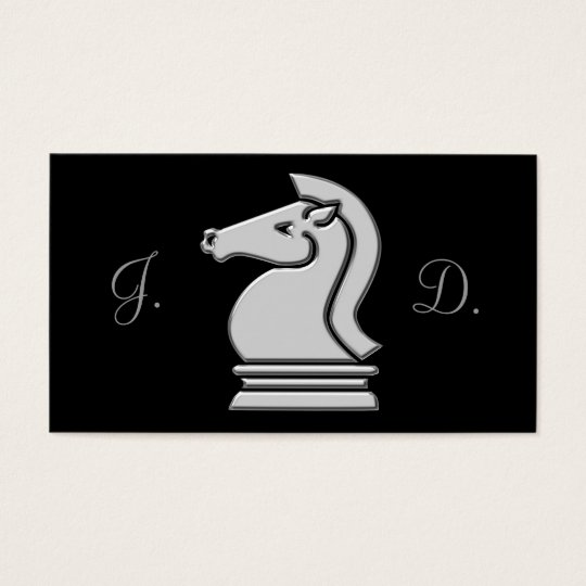 Professional Chess Champion Business Cards