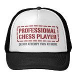 Professional Chess Player Trucker Hats