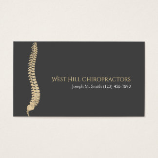 Professional Chiropractor Health Business Card