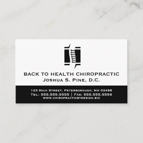 Professional Chiropractor Multiple Appointment Bus