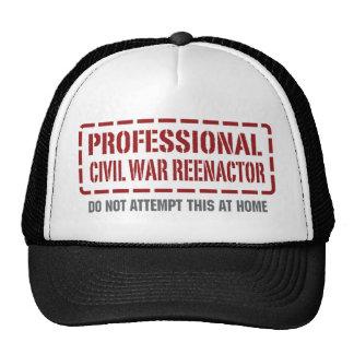 Professional Civil War Reenactor Trucker Hat