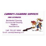 Professional Cleaner Business Card