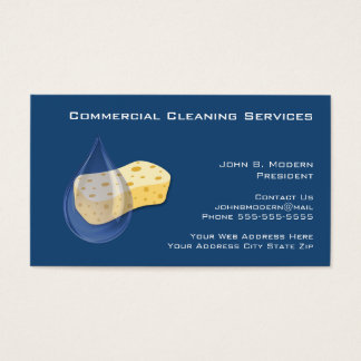 Professional Cleaning Business Cards