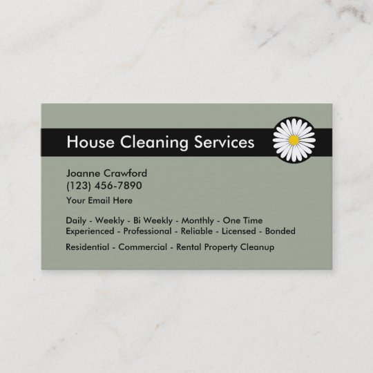 Cleaning Business Cards: Design Custom Business Cards for Free |Commercial Cleaning Cards