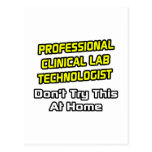 Professional Clinical Lab Technologist .. Joke Postcard