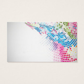 professional colorful double-sided business card