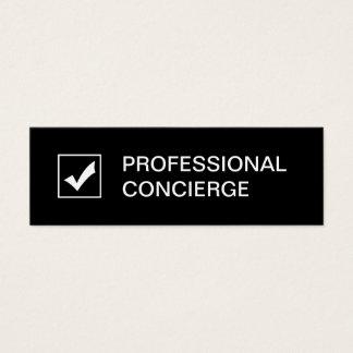 Professional Concierge Business Cards