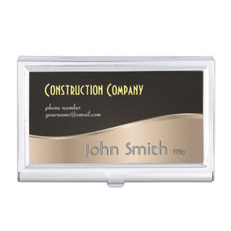 Real estate agent business card holders cases zazzle for Modern business card case