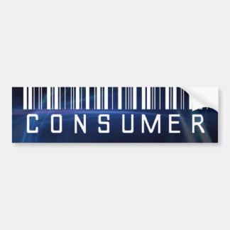 Professional Consumer? Bumper Sticker