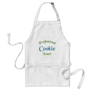 Professional Cookie Eater Adult Apron