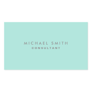 Professional Cosmetologist Elegant Fashion Plain Business Card Template