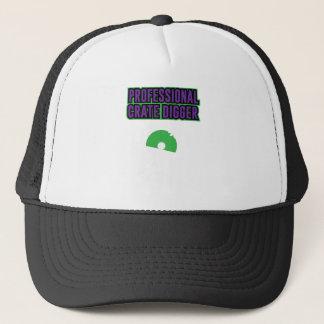 Professional Crate Digger Trucker Hat
