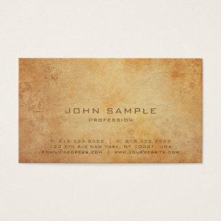 Professional Creative Plain Standard Matte Luxury Business Card