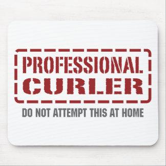 Professional Curler Mouse Mat