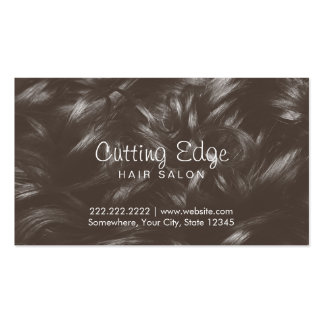Professional Curly Hair Background Hair Stylist Double-Sided Standard Business Cards (Pack Of 100)