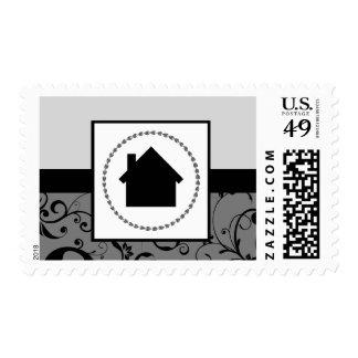 professional damask home postage