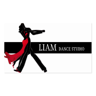 Professional Dance Instructor, Lessons, Studio Business Card