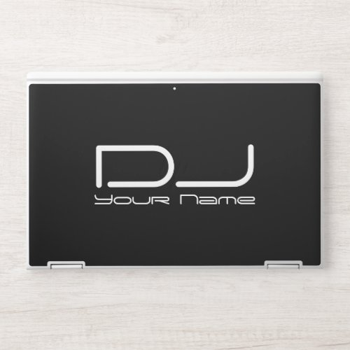 Professional Deejay HP Laptop Skin