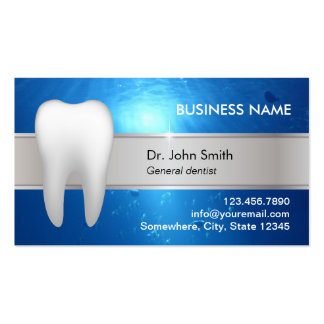 Professional Dental Appointment Business Card