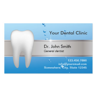 Professional Dental Appointment Double-Sided Standard Business Cards (Pack Of 100)