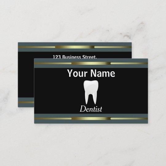 Professional dentist business card zazzle professional dentist business card reheart Choice Image