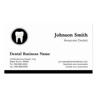 Professional Dentist - Dental Care Appointment Double-Sided Standard Business Cards (Pack Of 100)