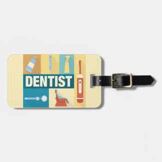 Professional Dentist Iconic Designed Bag Tag