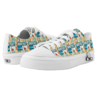 Professional Dentist Iconic Designed Low-Top Sneakers