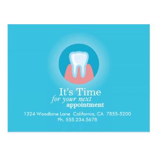 Professional Dentist Postcard Reminder Template