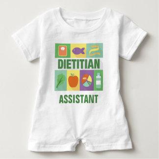 Professional Dietitian Iconic Designed Baby Romper
