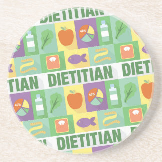 Professional Dietitian Iconic Designed Drink Coaster