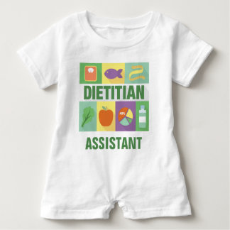 Professional Dietitian Iconic Designed Infant Romper