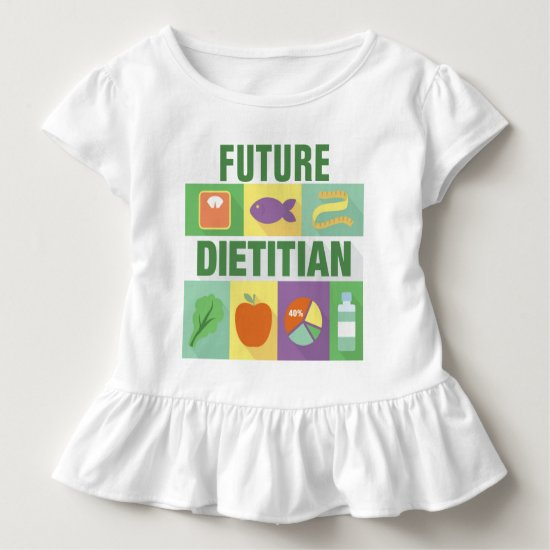 Professional Dietitian Iconic Designed Toddler T-shirt