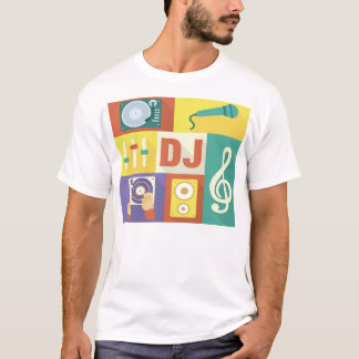 Professional Disc Jockey Iconic Designed T-Shirt
