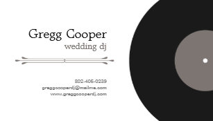 Wedding dj business cards templates zazzle professional dj business card colourmoves