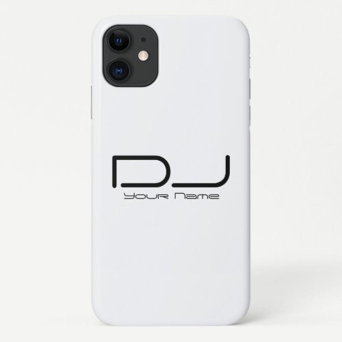 Professional DJ iPhone 11 Case
