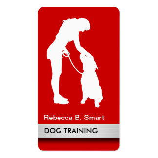 458 dog trainer dog training business cards and dog for Dog trainer business card