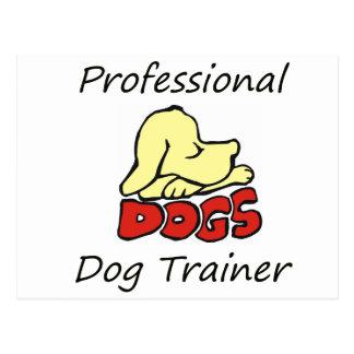 Professional Dog Trainer Postcard