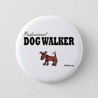Professional Dog Walker Button